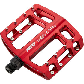 NC-17 Sudpin II S-Pro CNC Pedalen, red
